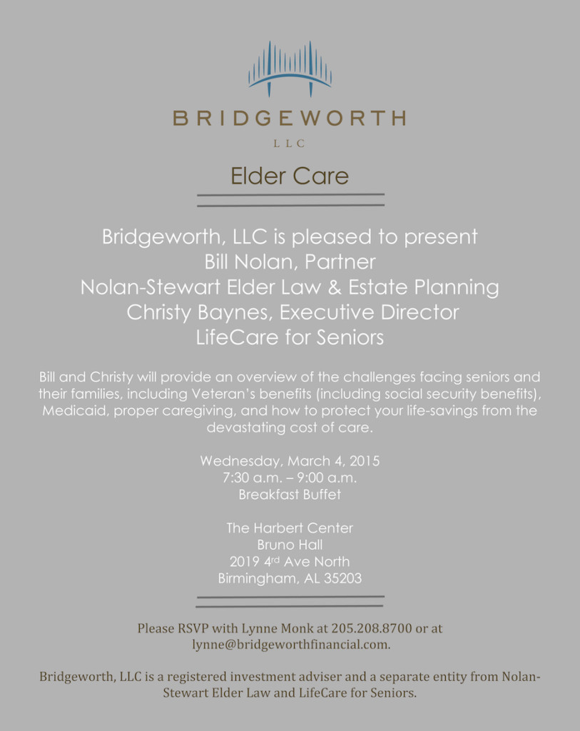 Microsoft Word - Elder Care Invite.docx